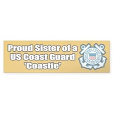 Coast Guard Sister Bumper Bumper Sticker