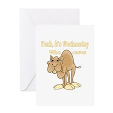 Wednesday Camel Greeting Card