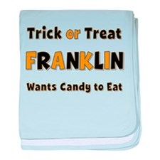 Franklin Trick or Treat baby blanket