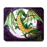 In Green (dragon) Mousepad