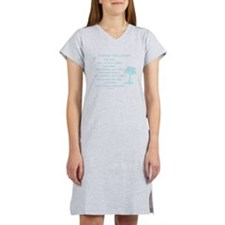 It starts with a dream Women's Nightshirt