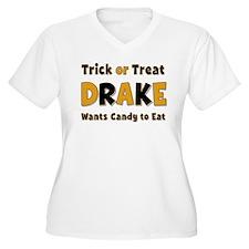 Drake Trick or Treat Plus Size T-Shirt