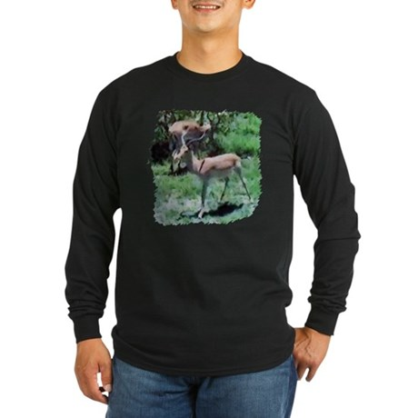 Gazelle Long Sleeve Dark T-Shirt