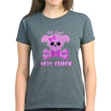 Personalized NCIS Chick Tee