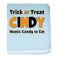 Cindy Trick or Treat baby blanket