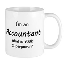 i'm an accountant Small Mugs