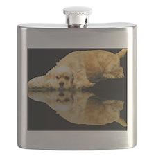 Cocker Reflection Flask