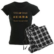 Alexandra Trick or Treat Pajamas