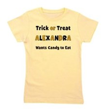 Alexandra Trick or Treat Girl's Tee