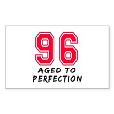 96 Year birthday designs Decal