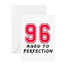 96 Year birthday designs Greeting Card