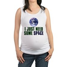 Astronaut Humor Maternity Tank Top