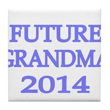 FUTURE GRANDMA 2014 -2 Tile Coaster