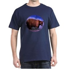Brown Grizzly Bear T-Shirt