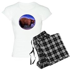 Brown Grizzly Bear Pajamas