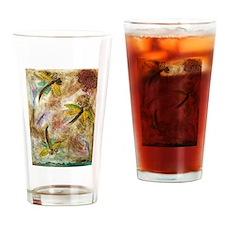 Dragonfly Lollipop Drinking Glass