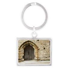 Old Castle Gate Landscape Keychain