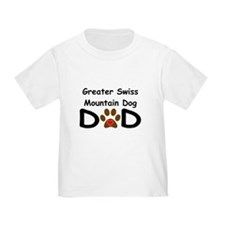 Greater Swiss Mountain Dog Dad T-Shirt