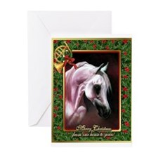 Arabian Horse Christmas Greeting Cards (Pk of 10)