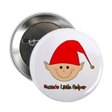 "Santa's Little Helper 2.25"" Button (10 pack)"