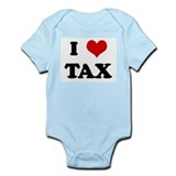 I Love TAX Onesie