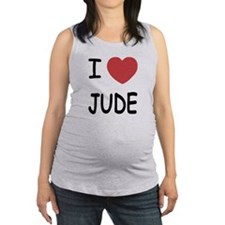 I heart Jude Maternity Tank Top