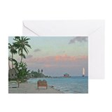 Tropical Coast Greeting Cards (Pk of 10)