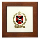 BLANCHETTE Family Crest Framed Tile