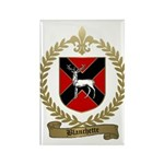 BLANCHETTE Family Crest Rectangle Magnet