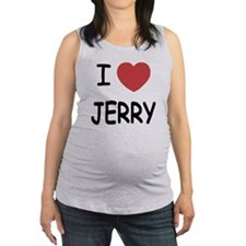 JERRY.png Maternity Tank Top