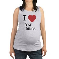 PORKRINDS.png Maternity Tank Top