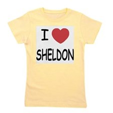 SHELDON.png Girl's Tee
