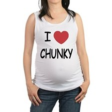 I heart CHUNKY Maternity Tank Top