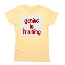 genius_in_training.png Girl's Tee