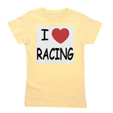loveRACING01.png Girl's Tee