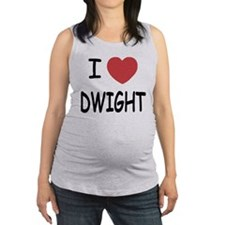 DWIGHT.png Maternity Tank Top