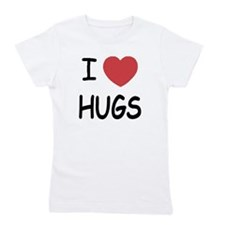 i-heart-HUGS01.png Girl's Tee
