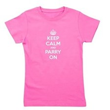 Keep Calm Girl's Tee