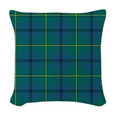 Tartan - Johnstone Woven Throw Pillow