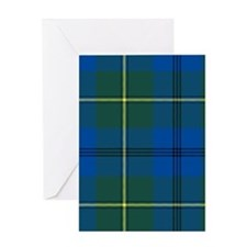 Tartan - Johnstone Greeting Card
