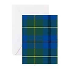 Tartan - Johnstone Greeting Cards (Pk of 10)