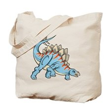 Blue Dinosaur Tote Bag