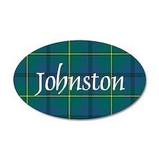 Tartan - Johnston 20x12 Oval Wall Decal