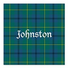 "Tartan - Johnston Square Car Magnet 3"" x 3"""