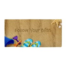 Beach Follow Your Bliss Beach Towel