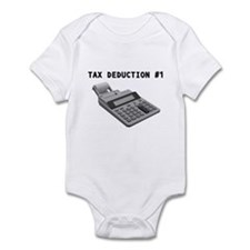 TAX DEDUCTION #1 Infant Bodysuit