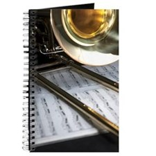 Trombone and Music for the Band Lover Journal