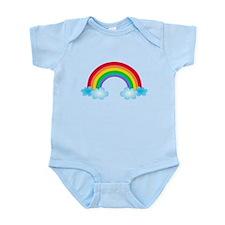 Rainbow & Clouds Infant Bodysuit