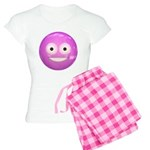 Candy Smiley - Pink Women's Light Pajamas