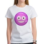 Candy Smiley - Pink Women's T-Shirt